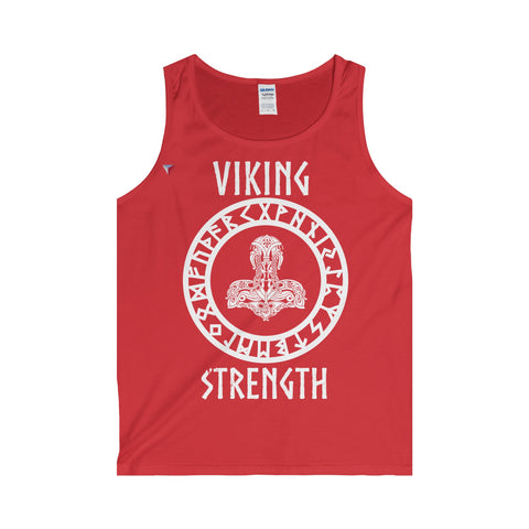Viking White Adult Tank Top