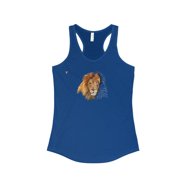 Lion Polygon - The Ideal Racerback Tank