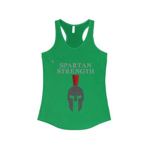 Spartan Strength Grey Gym The Ideal Racerback Tank