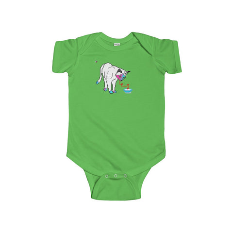 Pixel Cat Infant Fine Jersey Bodysuit