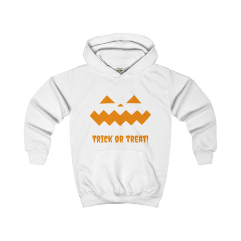 Halloween Pumpkin Orange Kids Hoodie