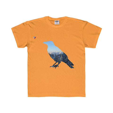 Mountain Raven Youth Regular Fit Tee
