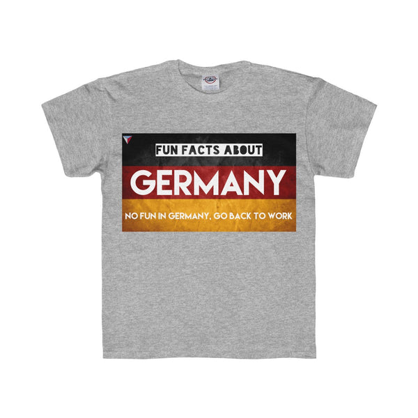 Germany Fun Facts Youth Regular Fit Tee