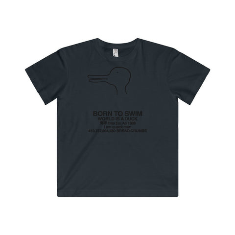 Quack Man Youth Fine Jersey Tee