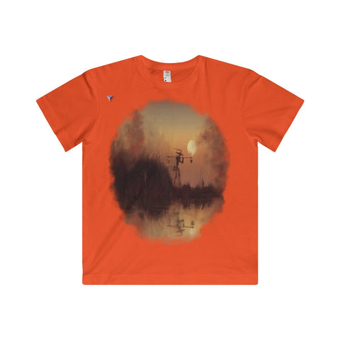 Japanese Sundown Youth Fine Jersey Tee