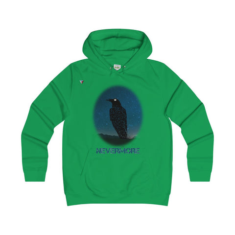 Raven Nevermore Girlie Hoodie