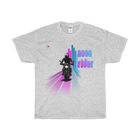 Neon Rider - Heavy Cotton T-Shirt