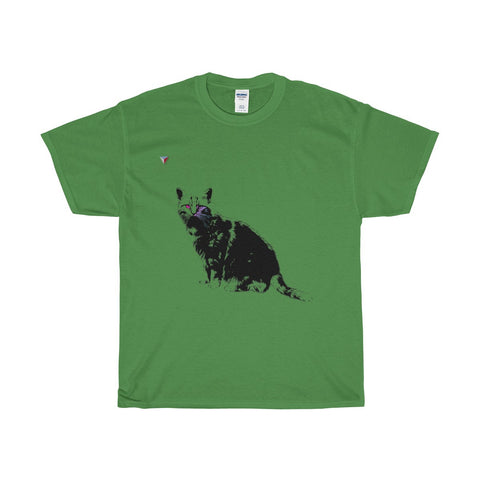 Black Cat Heavy Cotton T-Shirt