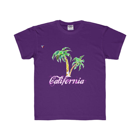 California Palm Tree - Youth Regular Fit Tee