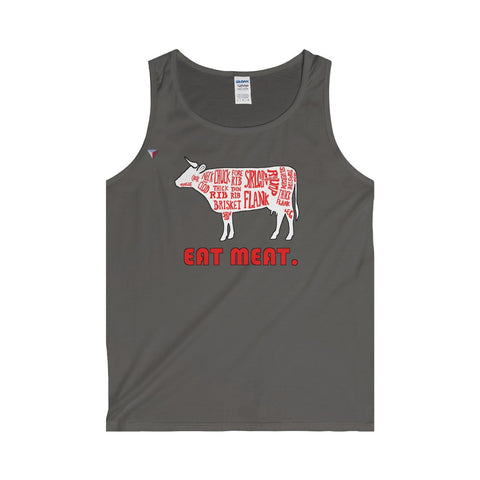 Eat Meat Tank Top