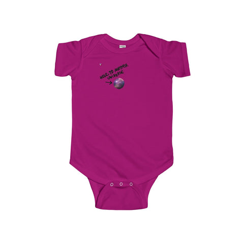 Hole To Another Universe Infant Fine Jersey Bodysuit