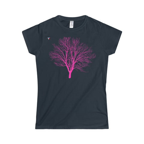 Pink Tree Softstyle Women's T-Shirt