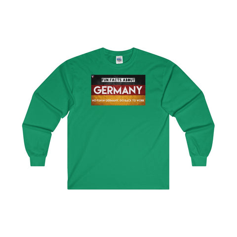 Germany Fun Facts Ultra Cotton Long Sleeve T-Shirt