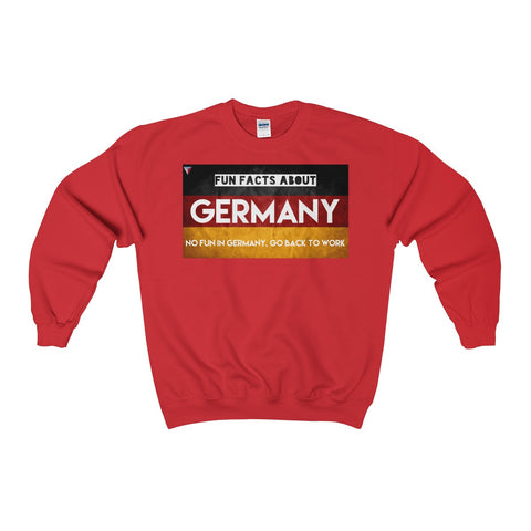 Germany Fun Facts Heavy Blend™ Adult Crewneck Sweatshirt