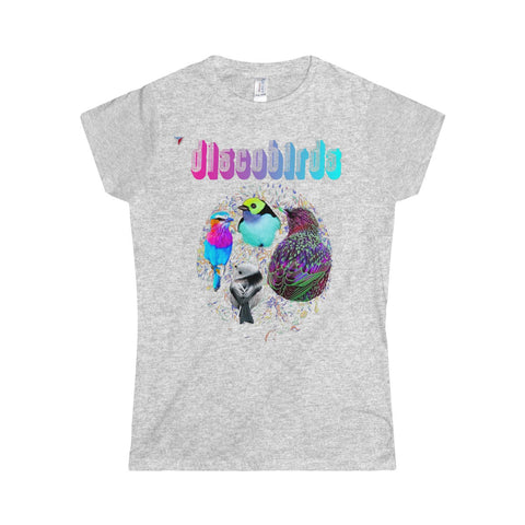 Discobirds Softstyle Women's T-Shirt
