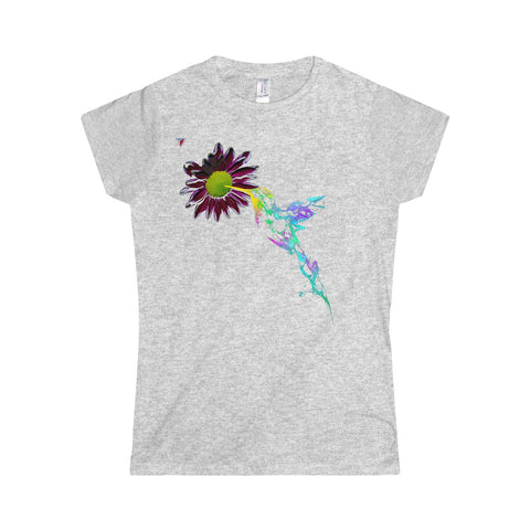 Neon Colibri Softstyle Women's T-Shirt