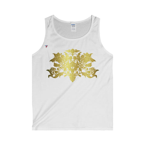 Gold Baroque Tank Top