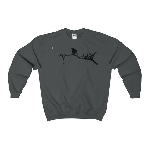 Black Bird Heavy Blend™ Adult Crewneck Sweatshirt