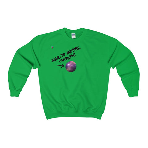 Hole To Another Universe Heavy Blend™ Adult Crewneck Sweatshirt