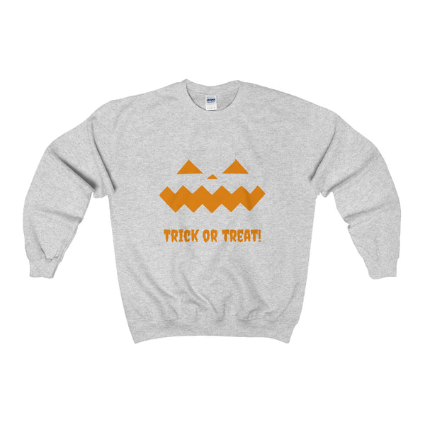 Halloween Pumpkin Orange Heavy Blend™ Adult Crewneck Sweatshirt