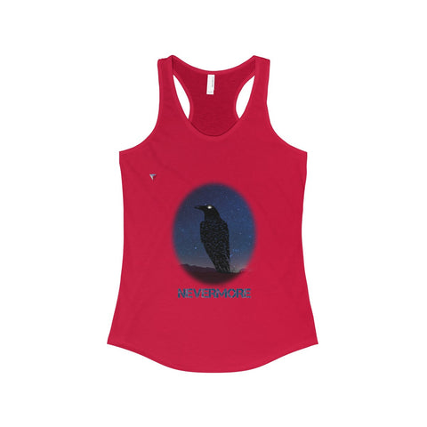 Raven Nevermore The Ideal Racerback Tank