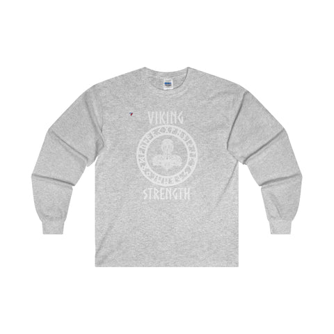 Viking White Ultra Cotton Long Sleeve T-Shirt