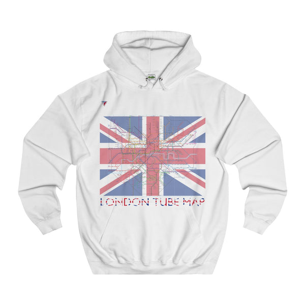 London Tube Map Hoodie