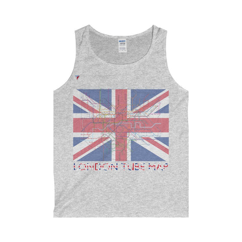 London Tube Map Tank Top