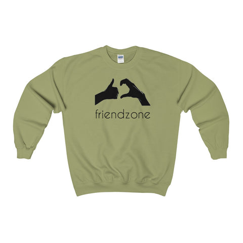 Friendzone Black Heavy Blend™ Adult Crewneck Sweatshirt