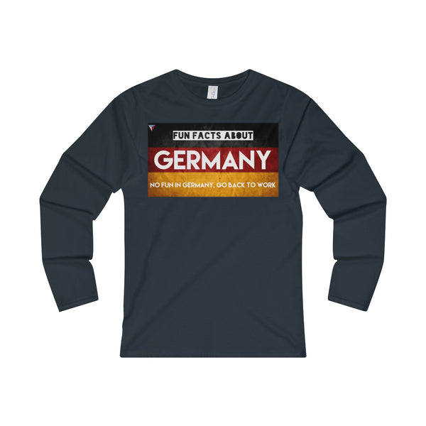 Germany Fun Facts Ladies' Long Sleeve T-Shirt