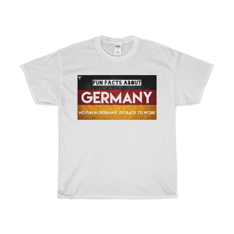 Germany Fun Facts Heavy Cotton T-Shirt