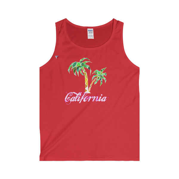 California Palm Tree - Adult Tank Top