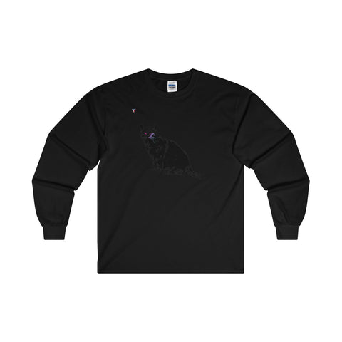 Black Cat Ultra Cotton Long Sleeve T-Shirt