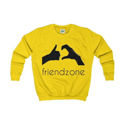 Friendzone Black Kids AWDis Sweat