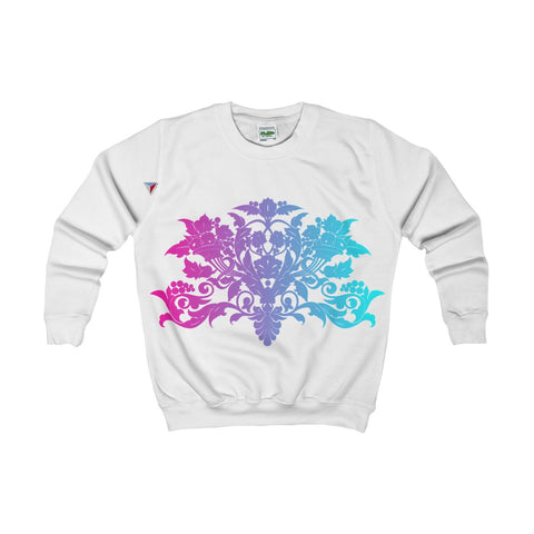 Colorful Baroque Kids AWDis Sweat