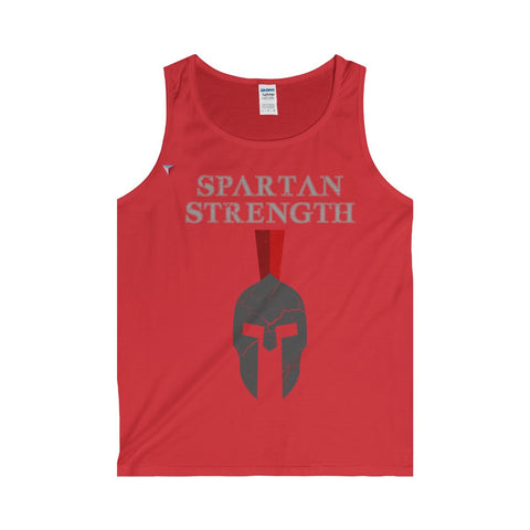 Spartan Strength Grey Gym Tank Top