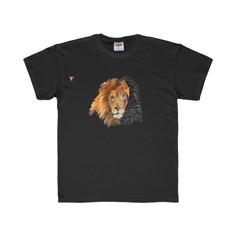 Lion Polygon - Youth Regular Fit Tee