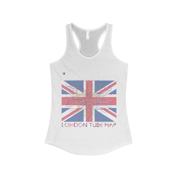 London Tube Map The Ideal Racerback Tank