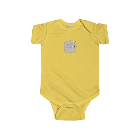 Kiss The Cook Infant Fine Jersey Bodysuit