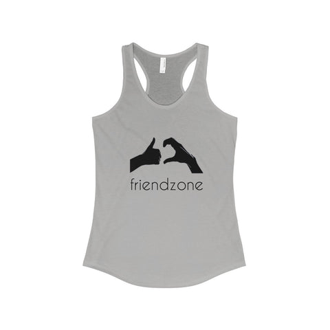 Friendzone Black The Ideal Racerback Tank