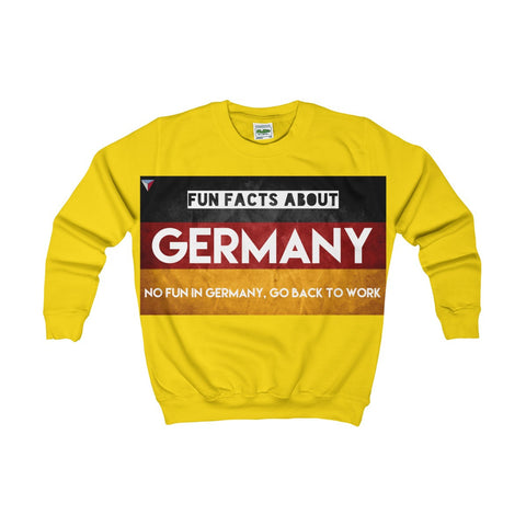 Germany Fun Facts Kids AWDis Sweat