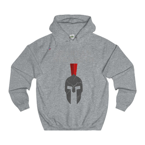 Spartan Strength Grey Gym Hoodie