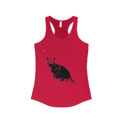 Black Cat The Ideal Racerback Tank
