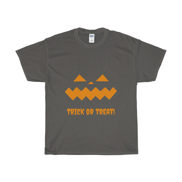 Halloween Pumpkin Orange - Heavy Cotton T-Shirt