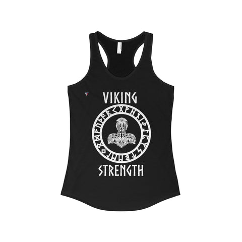 Viking White Women's The Ideal Racerback Tank