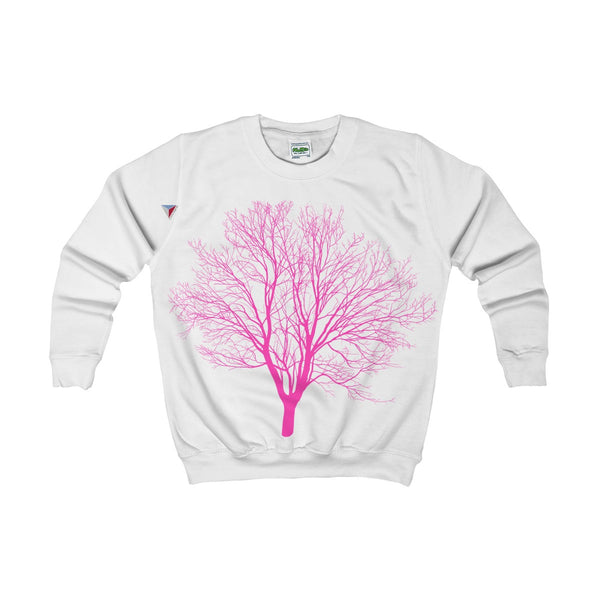 Pink Tree Kids AWDis Sweat