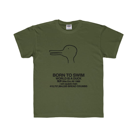 Quack Man Youth Regular Fit Tee