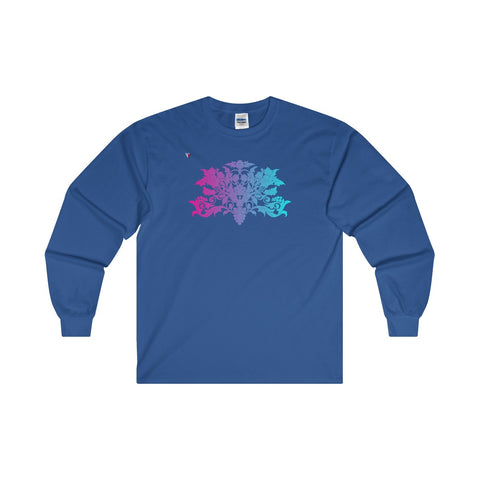 Colorful Baroque Ultra Cotton Long Sleeve T-Shirt