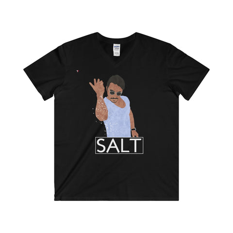 Salt Bae Softstyle® Adult V-Neck T-Shirt