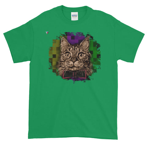 Fancy Cat Short-Sleeve T-Shirt